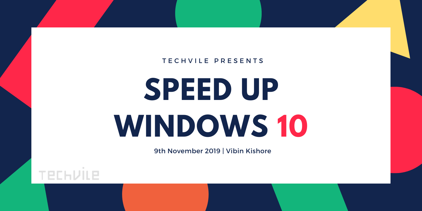 Steps to Speed Up Windows 10 Performance