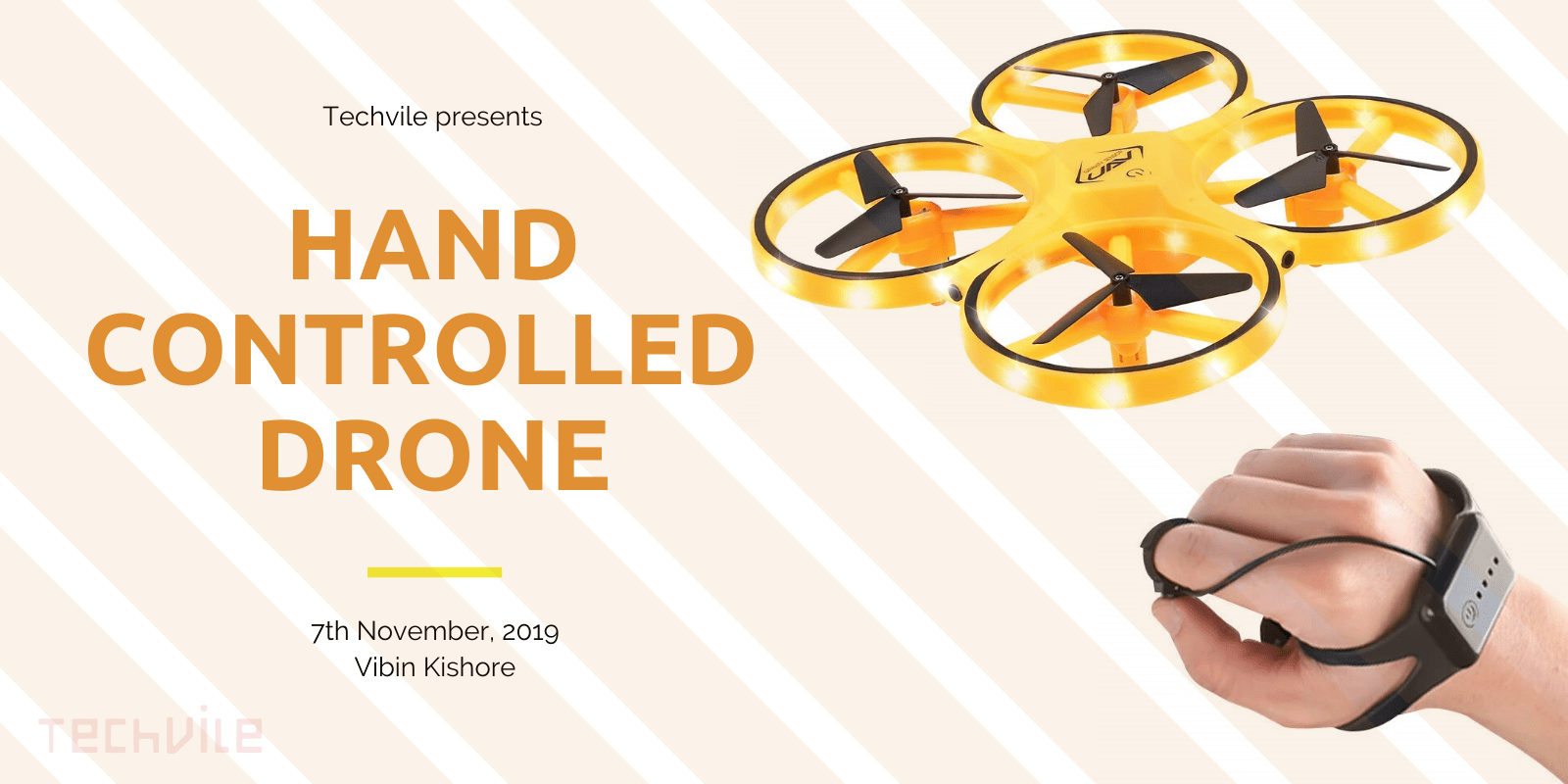 Best Cheap Hand Gesture Controlled Drone - November 2019