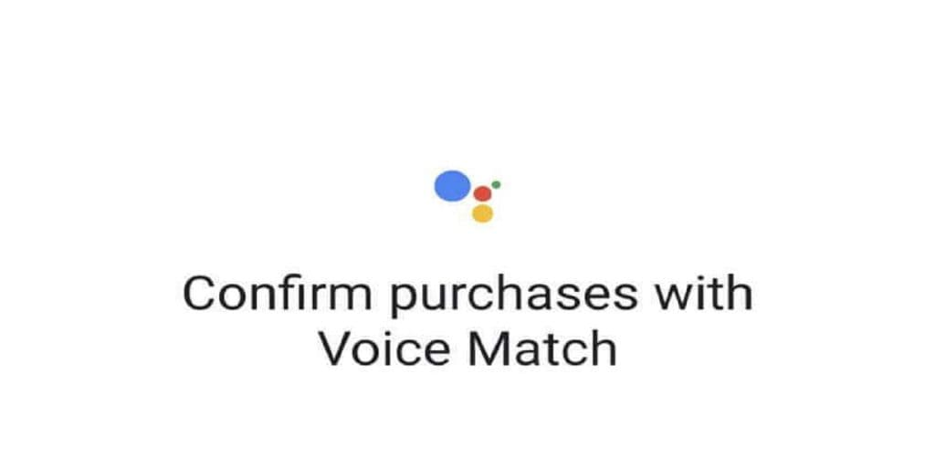 Google tests voice confirmation for purchases