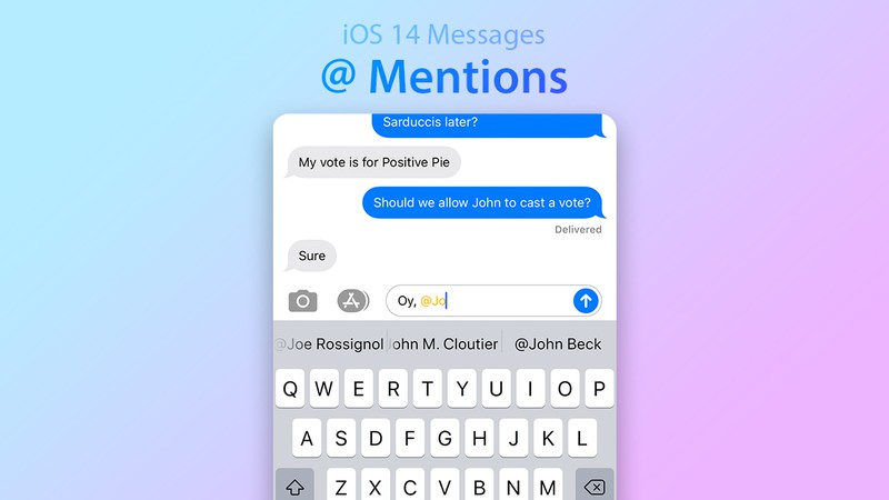 iMessage application