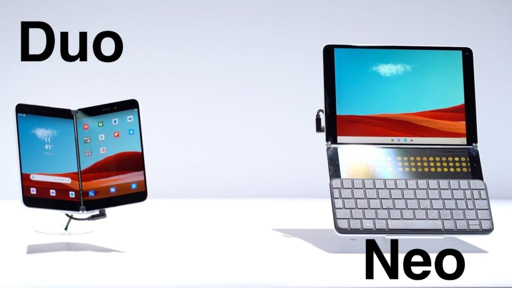 Microsoft's Surface Neo and Duo