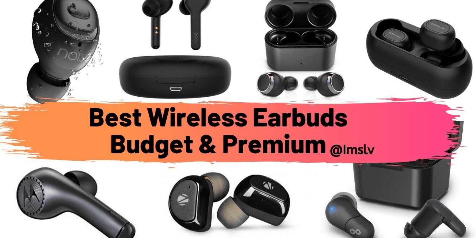 Top 5 wireless earbuds
