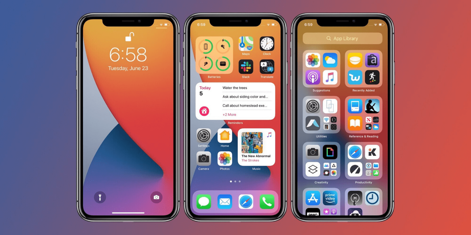 iOS 14 and iPadOS 14