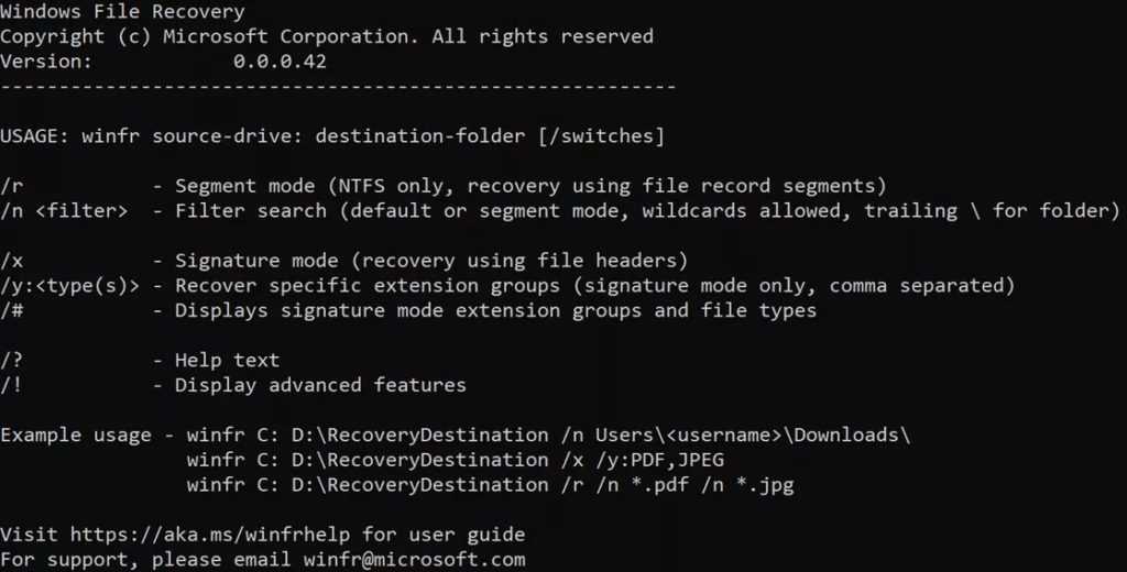 How to Recover deleted Data