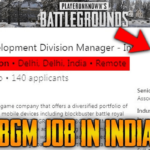 PUBG Corp Is Hiring In India